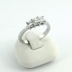 Fehér arany gyémánt gyűrű (Au792GT)