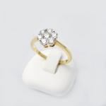 Arany gyémánt gyűrű (Au796GT)