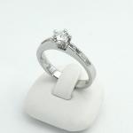 Fehér arany gyémánt gyűrű (Au797GT)
