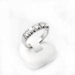 Fehér arany gyémánt gyűrű (Au849GT)