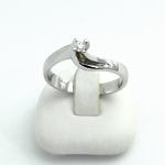 Fehér arany gyémánt gyűrű (Au851GT)