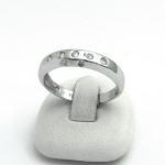 Fehér arany gyémánt gyűrű (Au852GT)