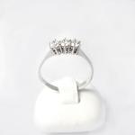 Fehér arany gyémánt gyűrű (Au855GT)