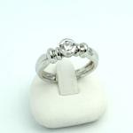 Fehér arany gyémánt gyűrű (Au857GT)