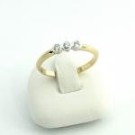 Arany gyémánt gyűrű (Au874GT)