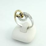Fehér arany gyémánt gyűrű (Au877GT)