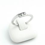 Fehér arany gyémánt gyűrű (Au883GT)
