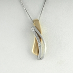 Arany gyémánt medál (Au1815GT)