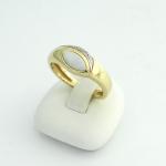 Arany gyémánt gyűrű opállal (Au1698GT)