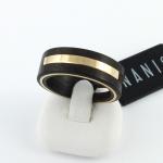 Nanis gyűrű ébenfával (Au523GT)