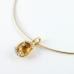 Nina Ricci nyakék gyémánttal és citrinnel (Au458GT)