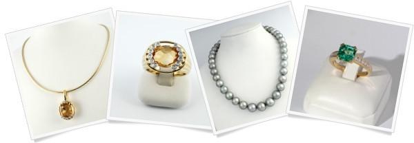 Arany gyűrű, arany fülbevaló, nyaklánc és más ékszerek