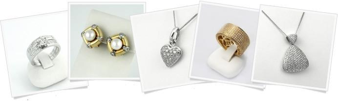Ezüst gyűrű, baba fülbevaló, karkötő, stb.